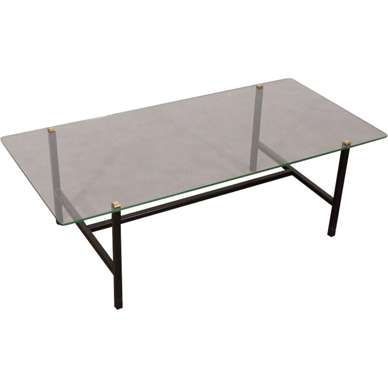 Vintage coffee table by Paul Geoffroy for Airborne - 1950s