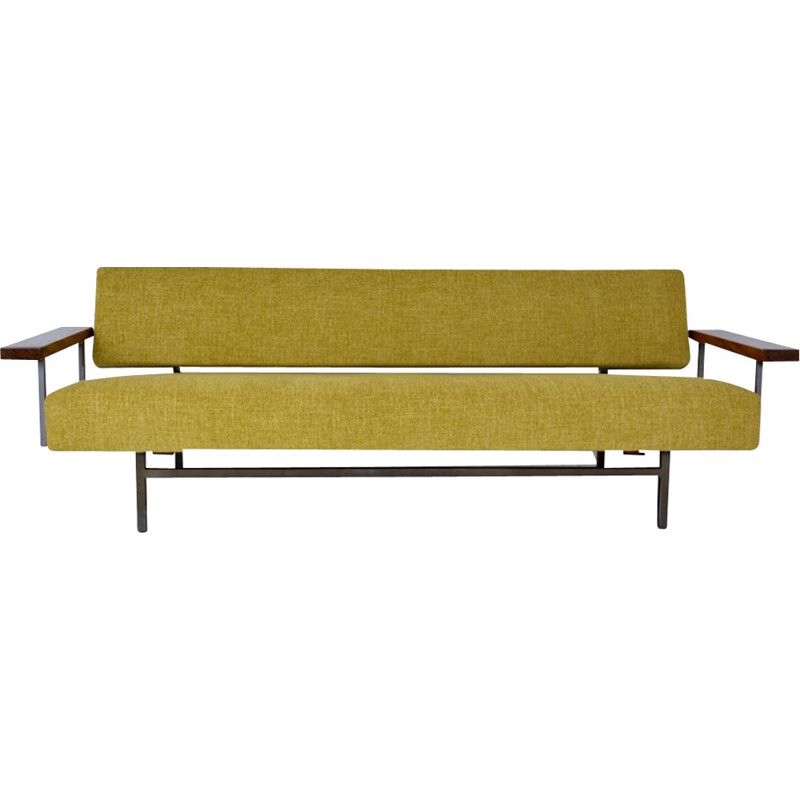 "Green vintage sofa/Daybed ""Lotus 75"" by Rob Parry - 1960s"