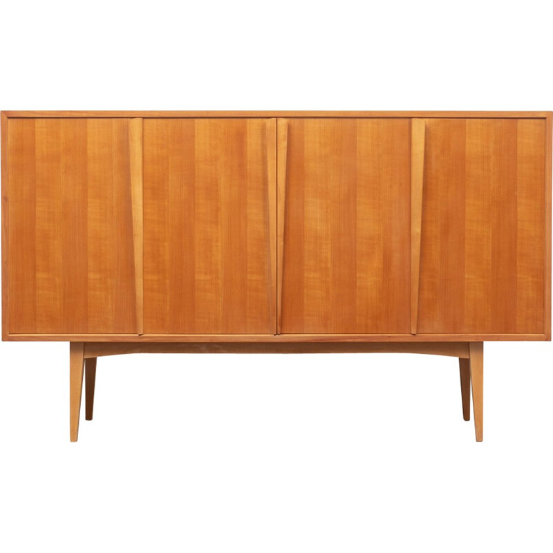Vintage highboard in cherrywood by Holzäpfel - 1960s
