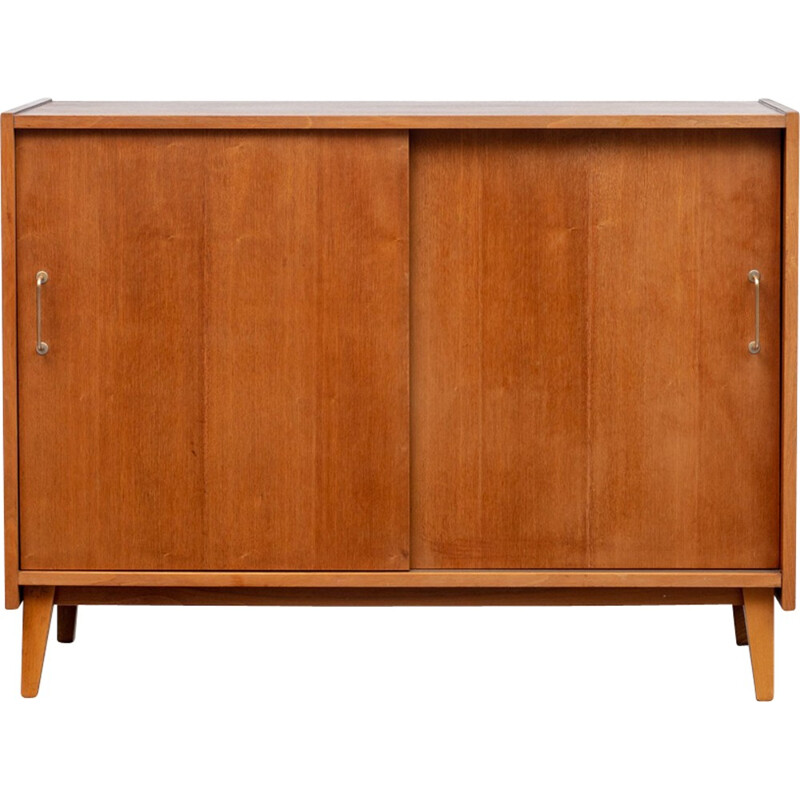 Vintage small sideboard in walnut - 1950s