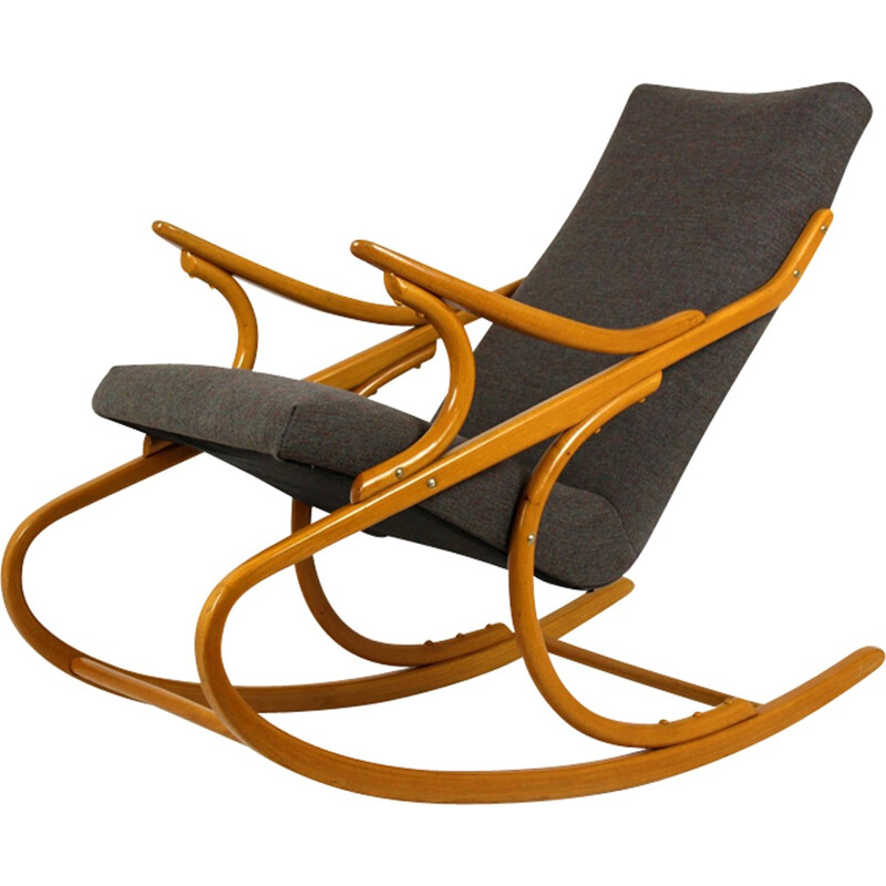 Vintage Rocking Chair from TON - 1960s