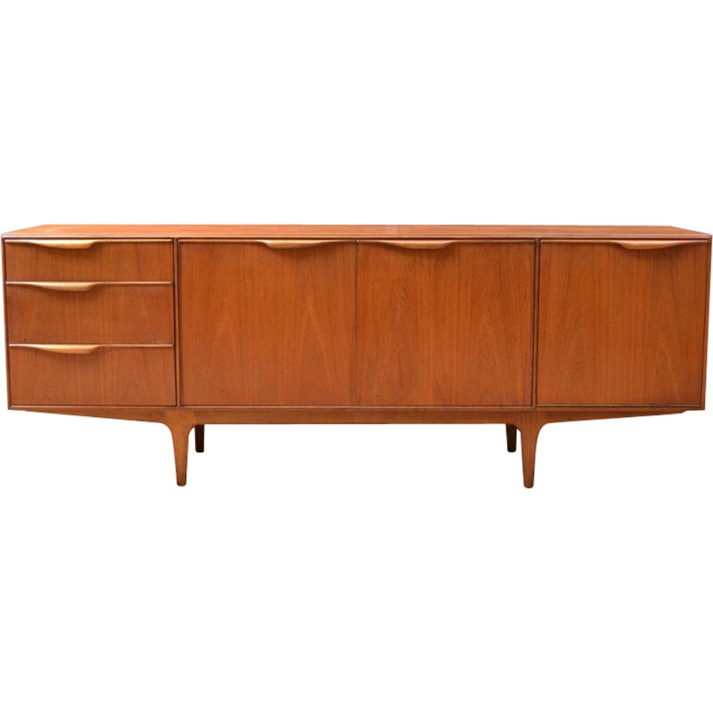Vintage sideboard with 3 drawers and 2 doors in teak by McIntosh - 1960s