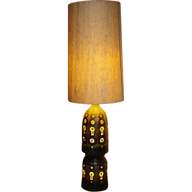 Vintage large floor lamp by Georges Pelletier - 1960s