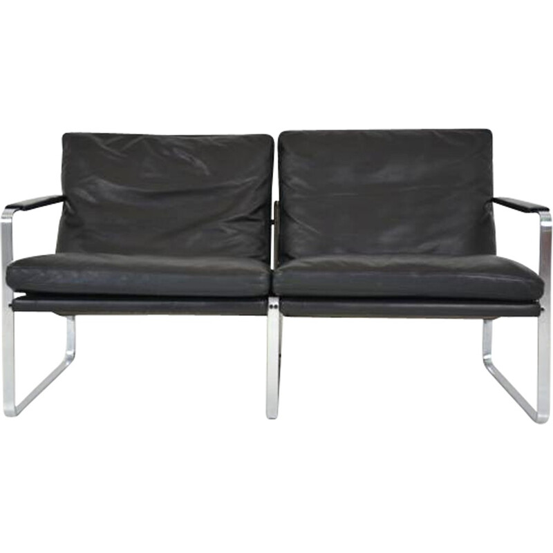 2-seater vintage sofa by Kastholm et Fabricius for Walter Knoll  - 1960s