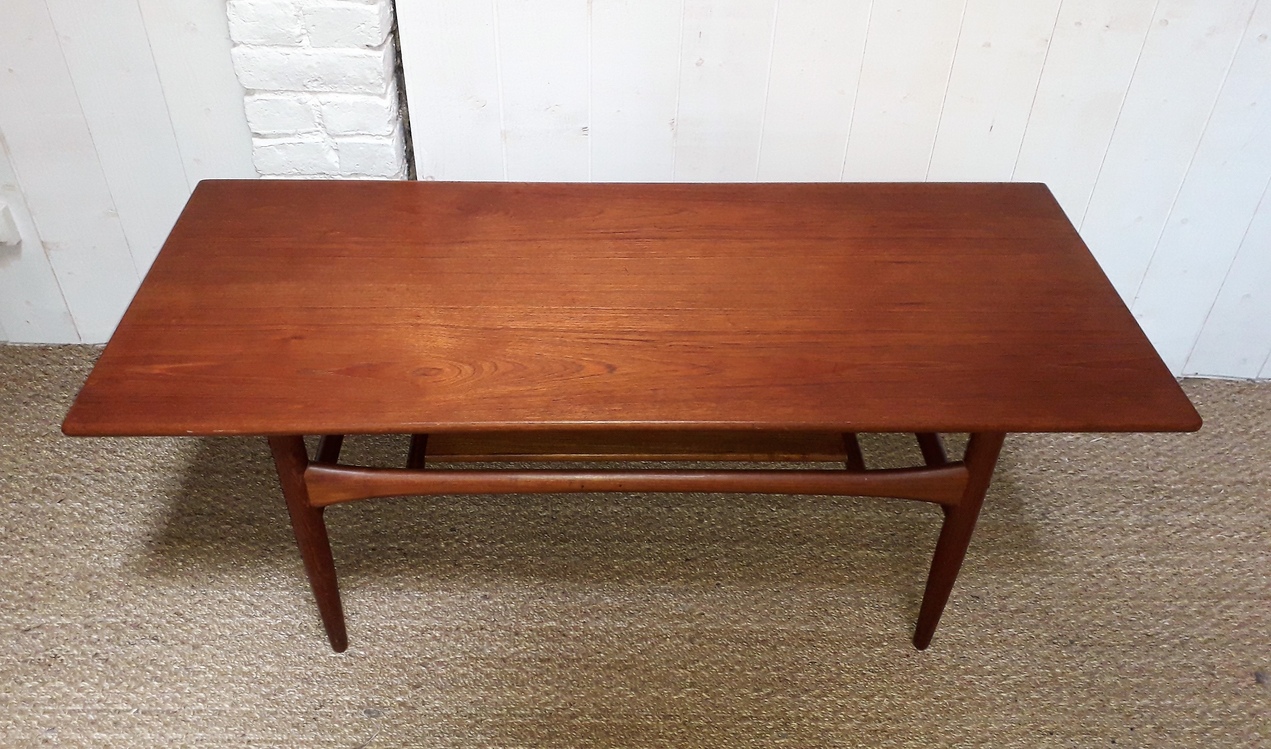 Scandinavian Vintage Teak coffee table by Arrebo Mobler ...