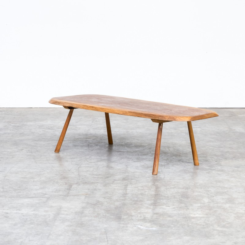 Vintage Coffee Table In Tree Trunk 1970s Design Market