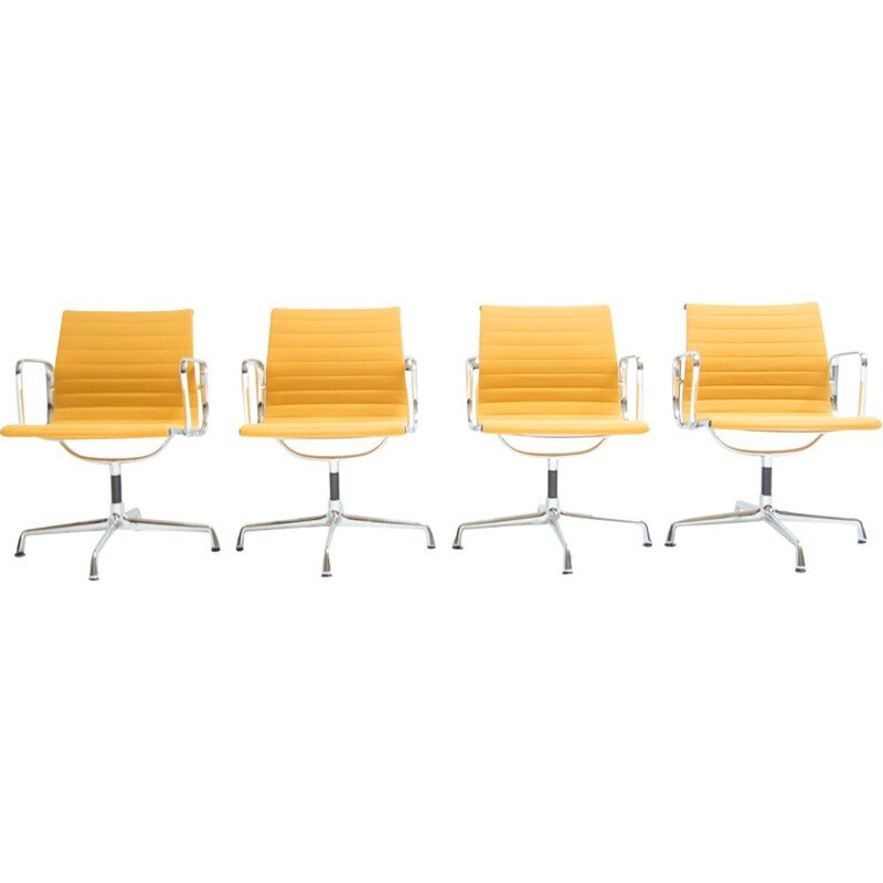 Set of 4 Vintage Desk chairs EA108 by Charles and Ray Eames - 1950s