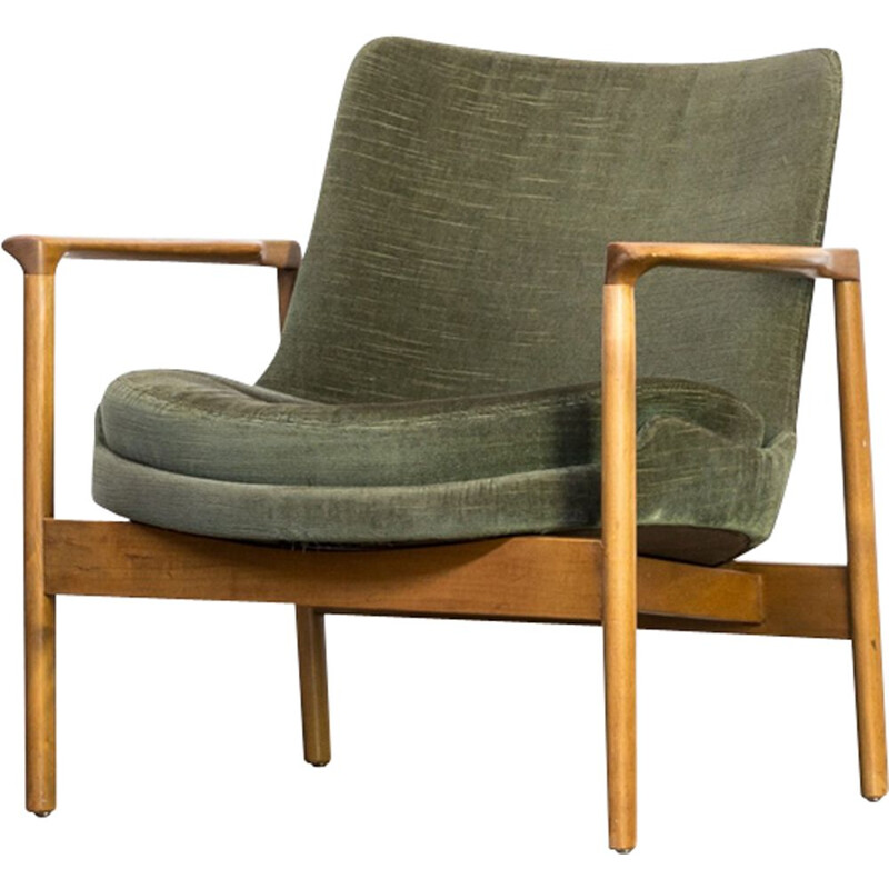 "Vintage ""Elizabeth"" lounge chair by Ib Kofod Larsen for France & Son - 1960s"