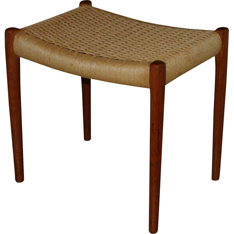 Vintage stool in teak by Nils O Moller - 1960s