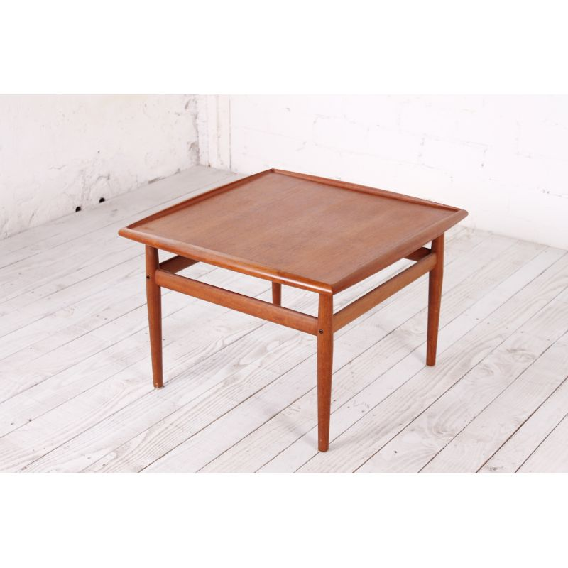 Vintage Coffee Table In Teak By Grete Jalk For Glostrup 1960s