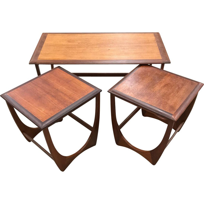 Vintage G Plan nesting tables by Victor Wilkins - 1960s