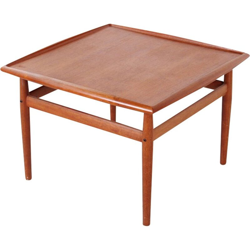 Vintage coffee table in teak by Grete Jalk for Glostrup - 1960s