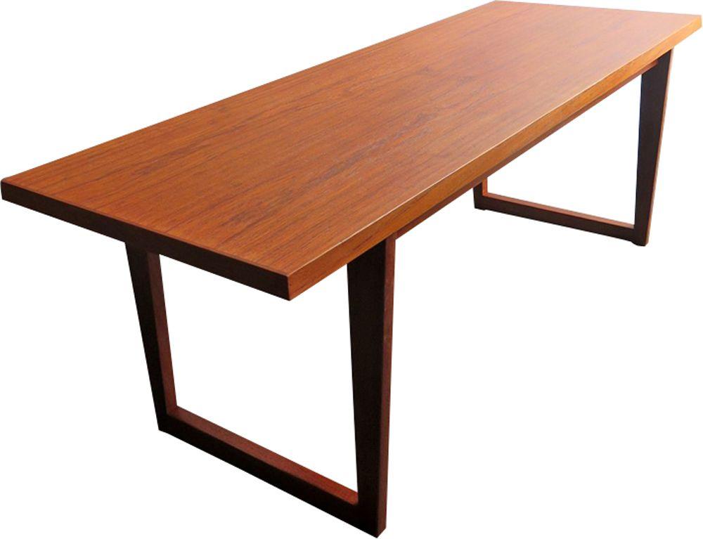 Vintage Danish coffee table in teak - 1960s - Design Market