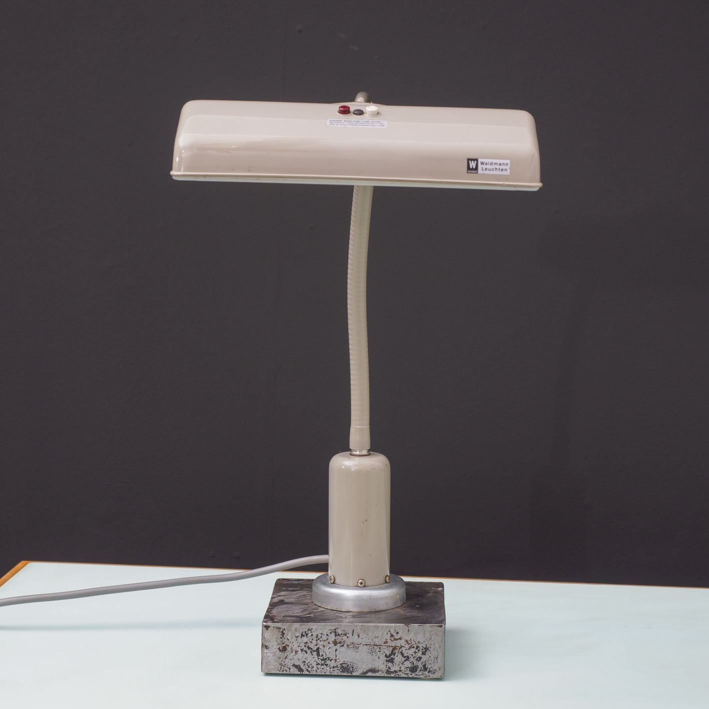 Waldmann vintage lamp with magnetic