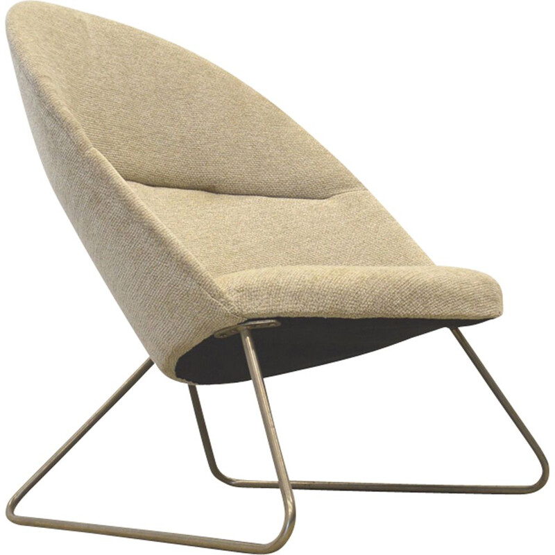 "Vintage armchair ""FH3400"" by Nanna Ditzel for Fritz Hansen - 1950s"