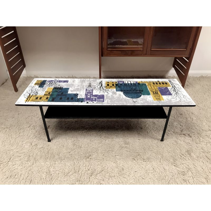 Vintage Coffee Table By John Piper