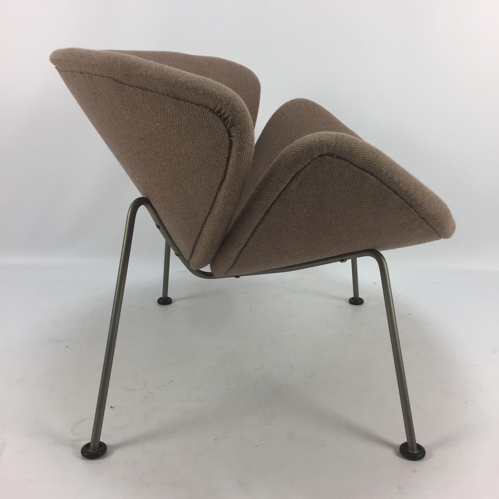 Vintage Orange Slice Lounge Chair By Pierre Paulin For