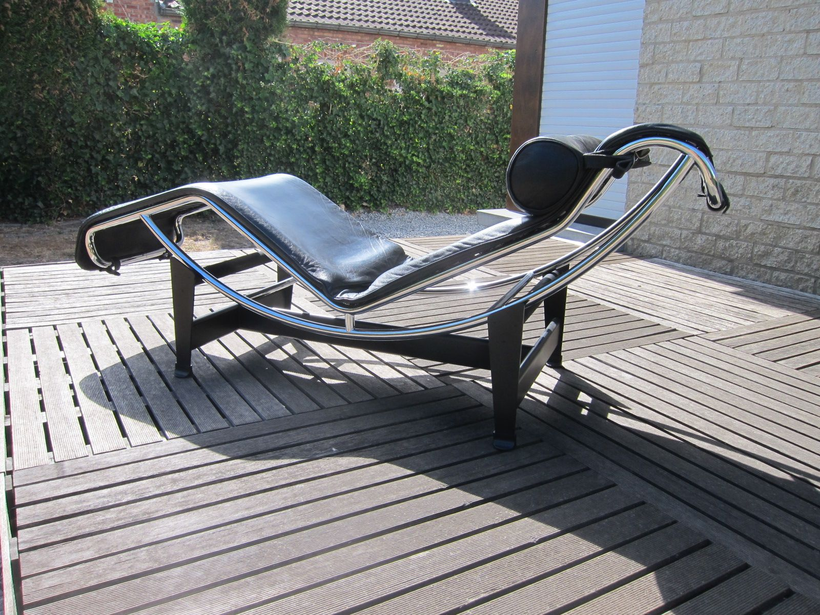 Vintage Lounge Chair Lc4 By Le Corbusier For Cassina