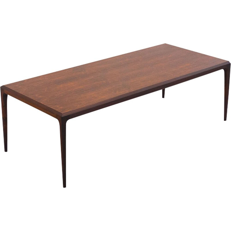 Vintage coffee table by Johannes Andersen for CFC Silkeborg