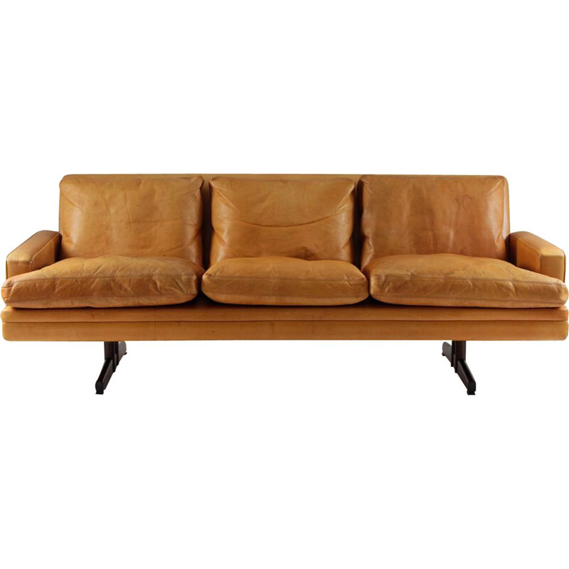 "Vintage Scandinavian 3-seater sofa ""807"" by Fredrik Kayser for Vatne Lenestolfabrikk AS"