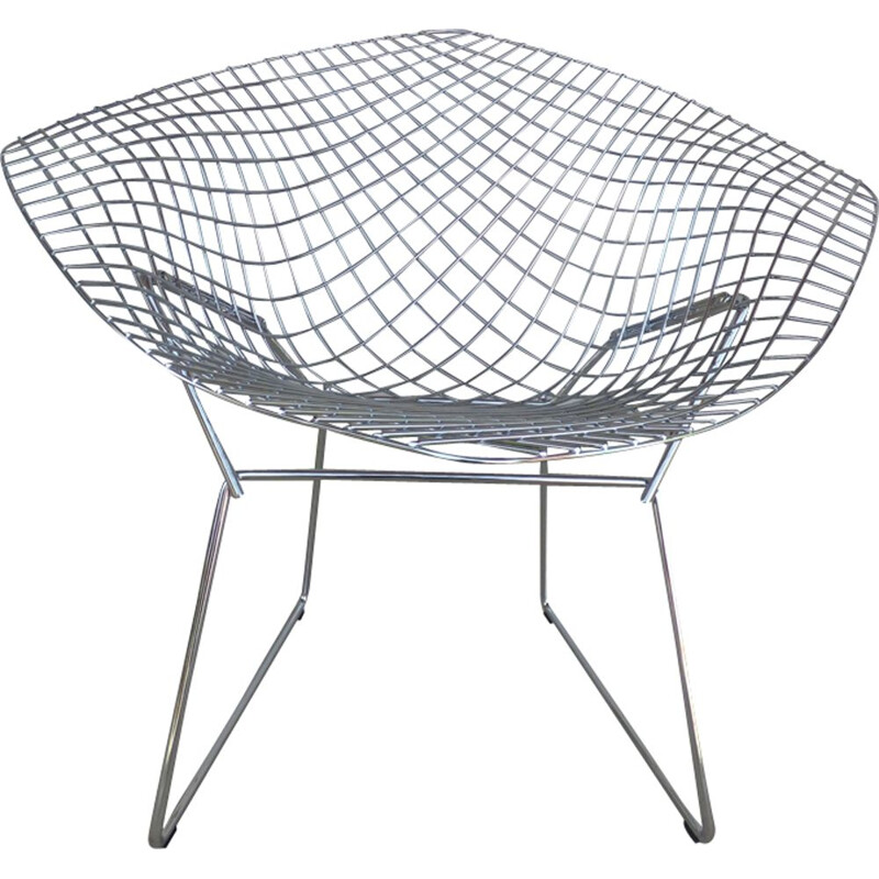 Vintage armchair by Bertoia for Knoll