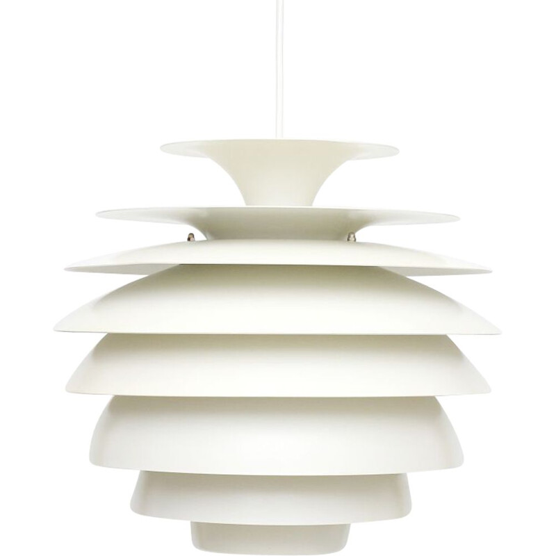 "Vintage pendant lamp ""Barcelona"" by Bent Karlby for Lyfa"
