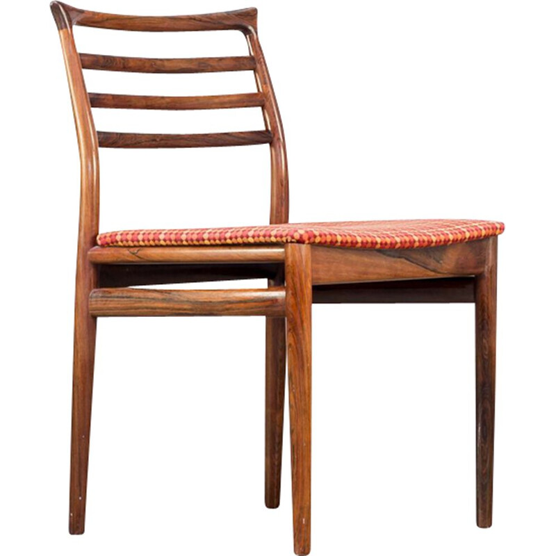Vintage dining chair by Erling Torvits for Sorø Stolefabrik