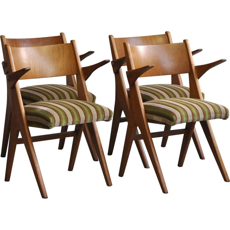 """Vintage """"Penguin"""" armchair by Carl Sasse for Casala"""
