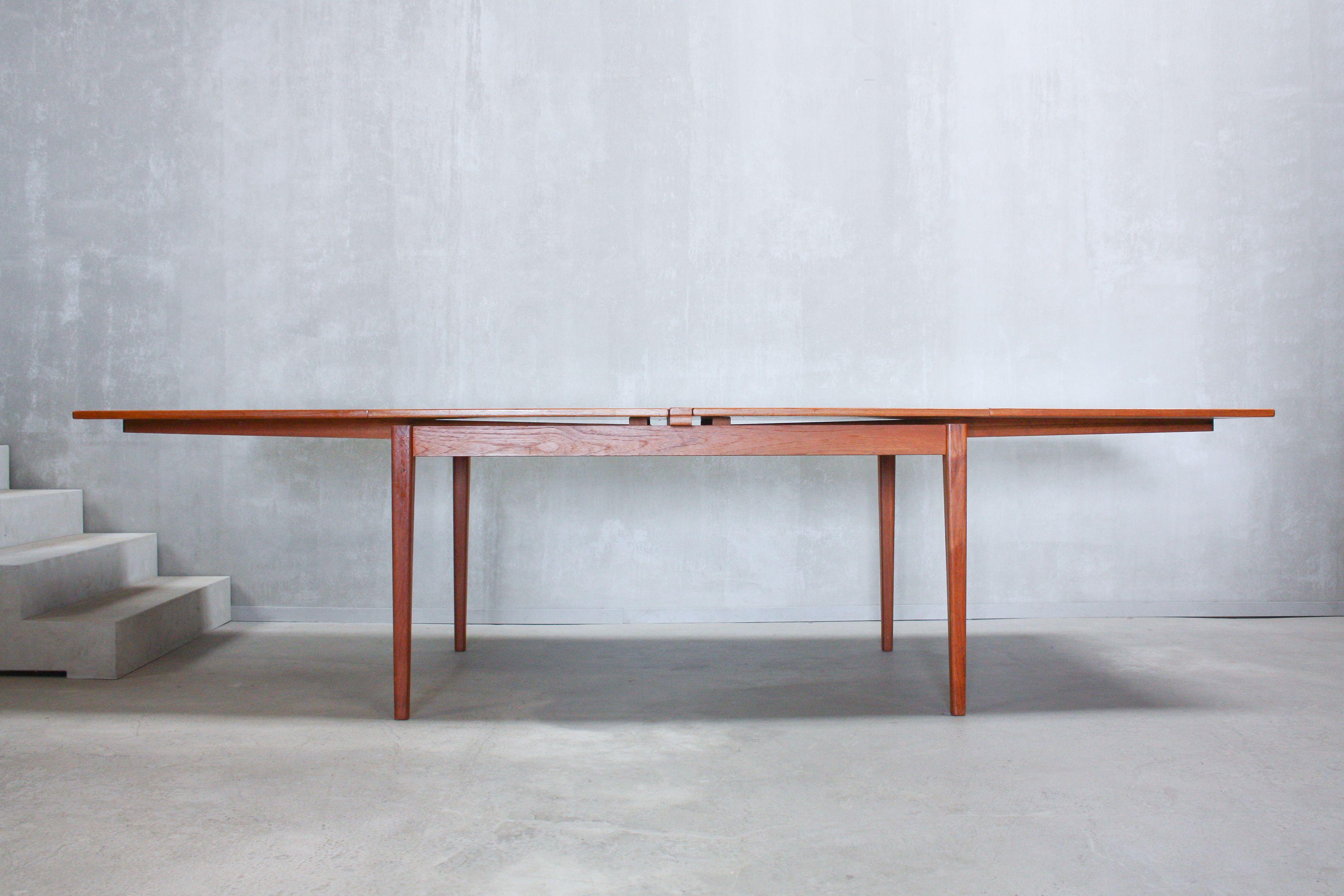 Vintage Swedish Dining Table From Skaraborgs Mobelindustri