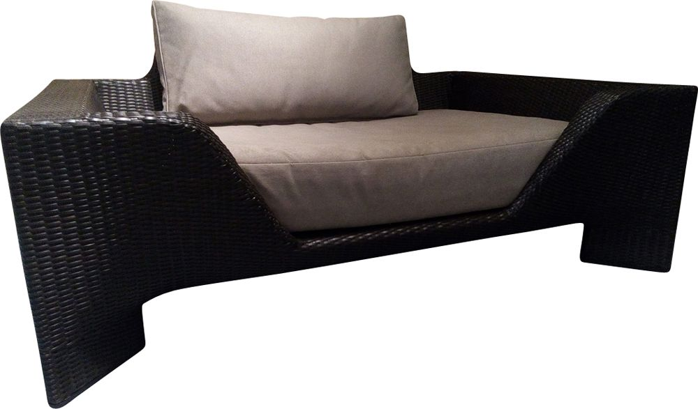 vintage chaise lounge by sacha lakic for roche bobois. Black Bedroom Furniture Sets. Home Design Ideas