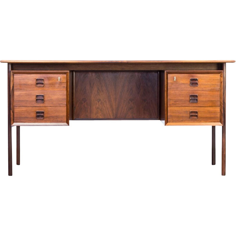 Writing desk in rosewood by Arne Vodder for Sibast