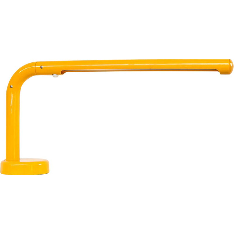 "Yellow ""Tube"" lamp by Anders Pehrson for Atelje Lykthan - 1960s"