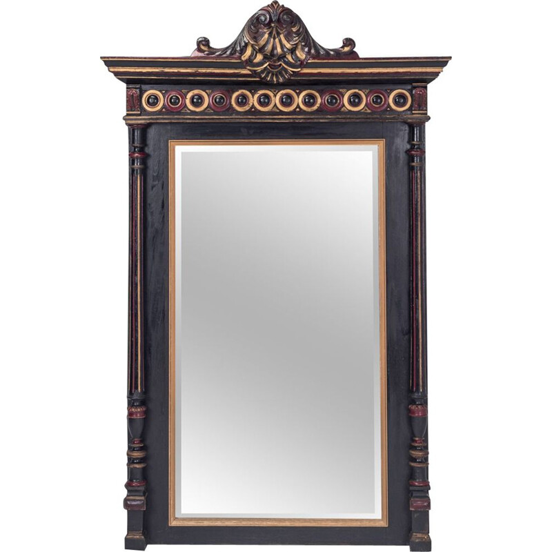 Vintage French mirror in wood