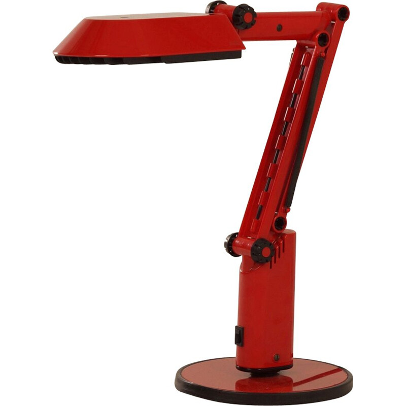 Red Desk Lamp by Ahlstrom & Ehrich Design for Fagerhults