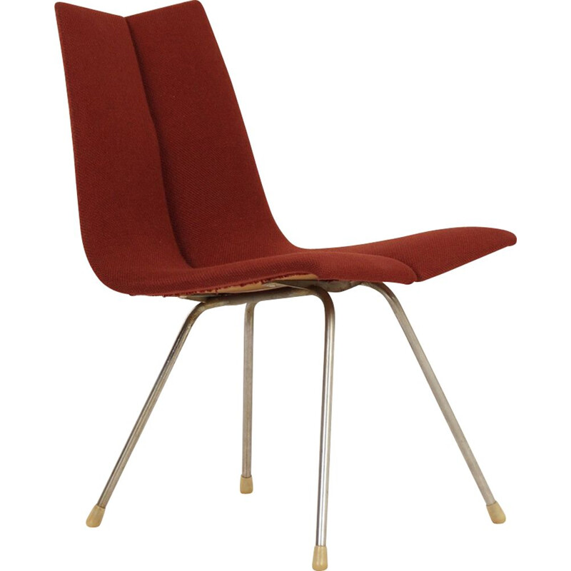 Vintage Red GA Chair by Hans Bellmann for Horgenglarus