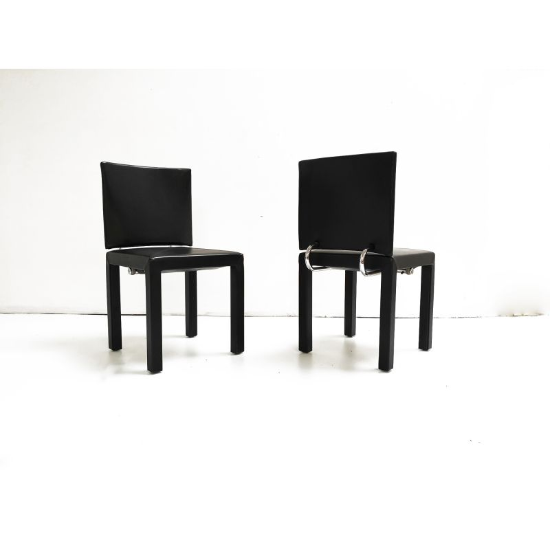 Set Of 2 Vintage Chairs Arcadia By Paolo Piva For B B Italia