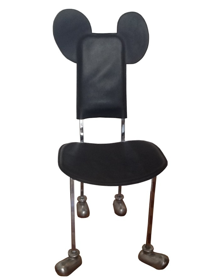 Garriris mickey mouse chair javier mariscal 1988 for Javier mariscal design