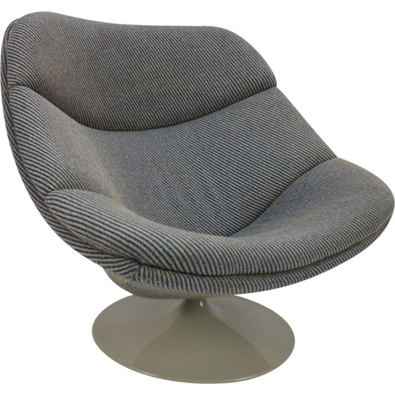 """Vintage Chair """"Oyster F558"""" by Pierre Paulin for Artifort"""