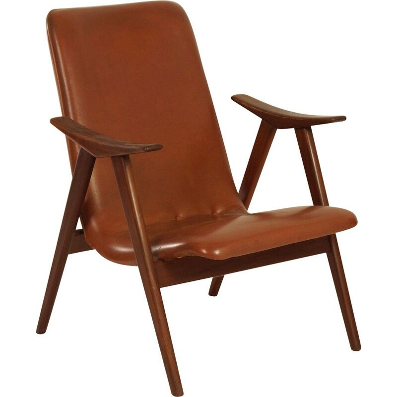 Teak Vintage Armchair by Louis van Teeffelen for Web