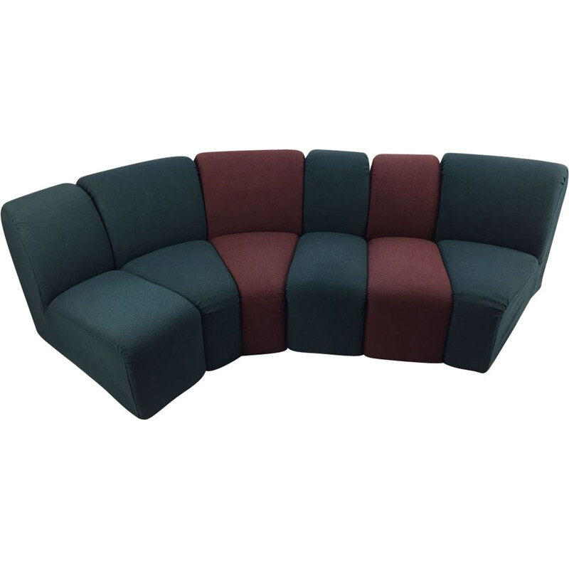 """Vintage sofa """"Mississippi"""" by Pierre Paulin for Artifort"""