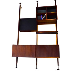 Vintage bookcase in rosewood, Poul CADOVIUS - 1960s