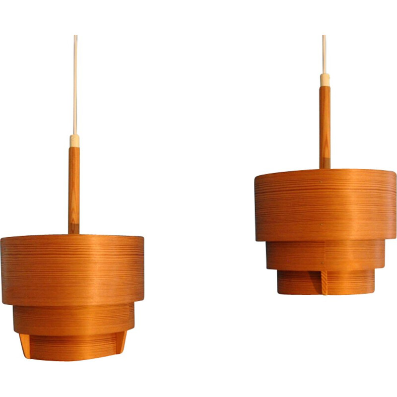 "Set of 2 pendant lamps ""Elysett T353"" by Hans-Agne Jakobsson"
