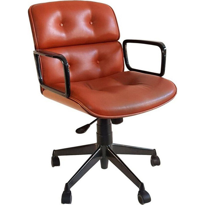 Vintage desk chair by Ico and Luisa Parisi for MIM Rome