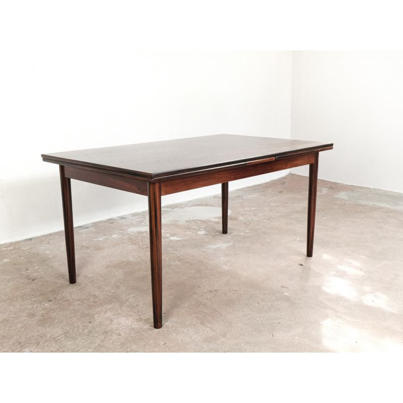 Vintage Danish Extendable Dining Table In Rosewood Design Market - Extendable tulip table
