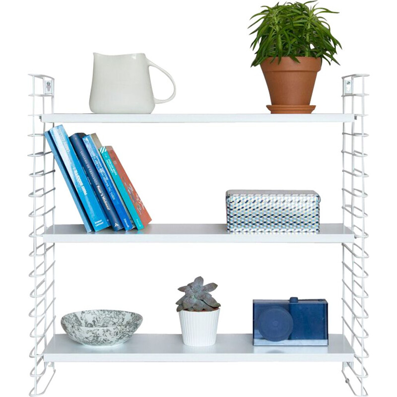 "White ""Tomado"" shelves by Adrian Dekker"