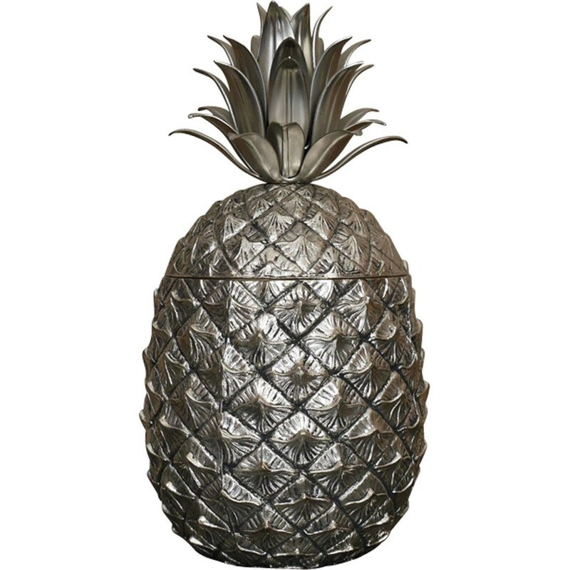 """Vintage ice bucket """"Pineapple"""" by Mauro Manetti"""