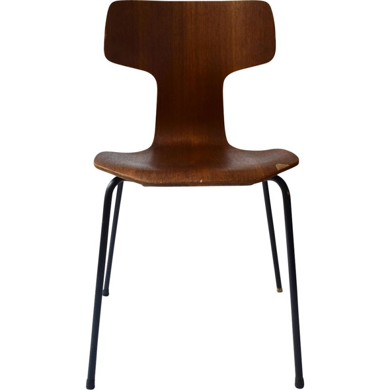 "Vintage ""Hammer"" Chair by Arne Jacobsen for Fritz Hansen"