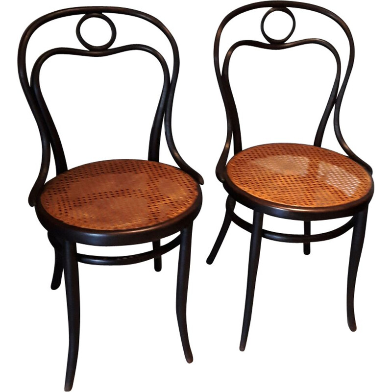 Pair of model 31 chairs by Michael Thonet