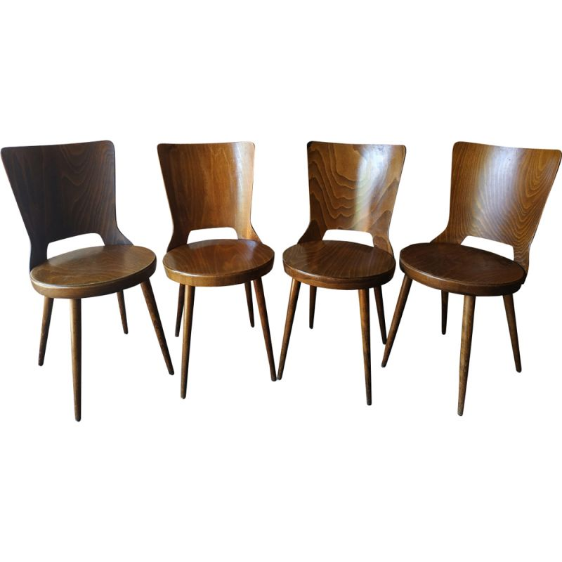 Amazing Set Of 4 Bistro Chairs Mondor By Baumann Pdpeps Interior Chair Design Pdpepsorg