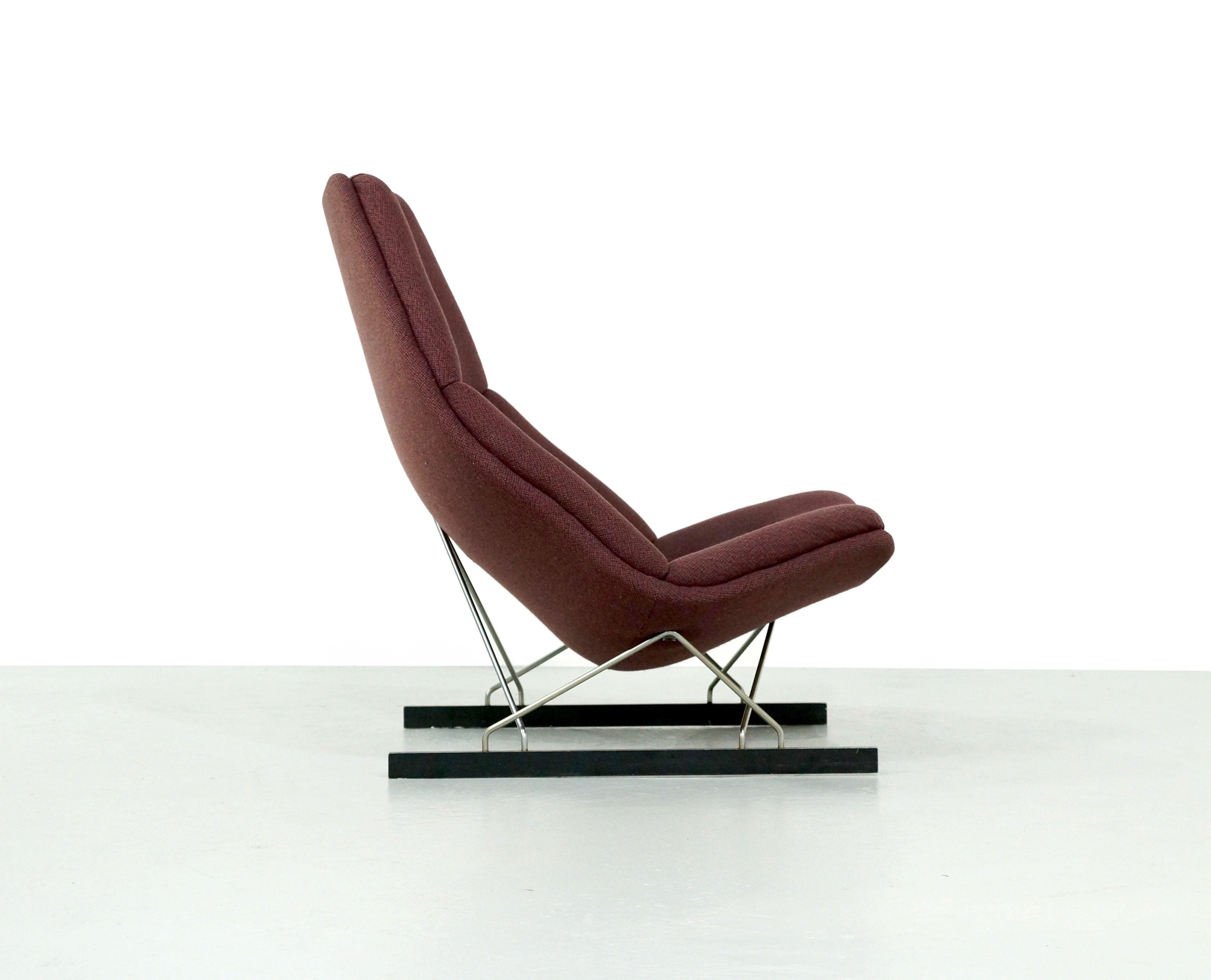 Vintage Artifort Lounge Chair F592 By Geoffrey Harcourt